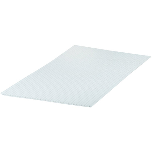 Plaskolite 2 Ft. x 4 Ft. x 1/2 In. Egg Crate White Styrene Light Panel