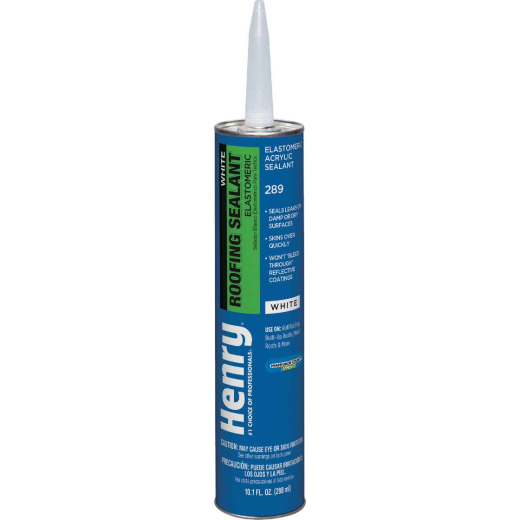 Henry 10.1 Oz. White Roof Cement and Patching Sealant
