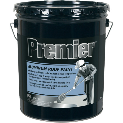 Premier 5 Gal. Non-Fibered Aluminim Aluminum Roof Coating