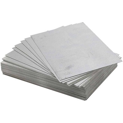 NorWesco 5 In. x 8 In. Mill Galvanized Step Flashing Shingle