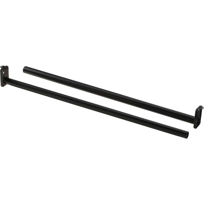 National 72 In. To 120 In. Adjustable Closet Rod, Oil Rubbed Bronze