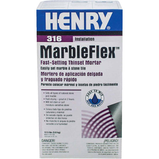 Henry Marbleflex 12-1/2 Lb. White Mortar Mix