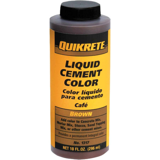 Quikrete Brown 10 Oz Liquid Cement Color