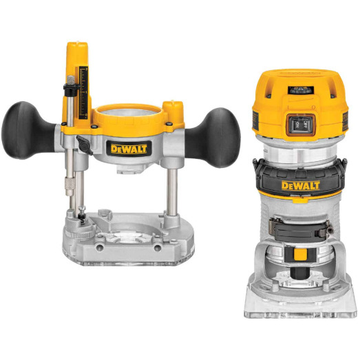 DeWalt 7.0A 16,000 to 27,000 rpm Router Kit