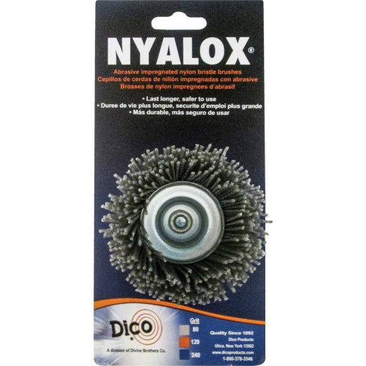 Dico Nyalox 2-1/2 In. Extra Coarse Drill-Mounted Wire Brush