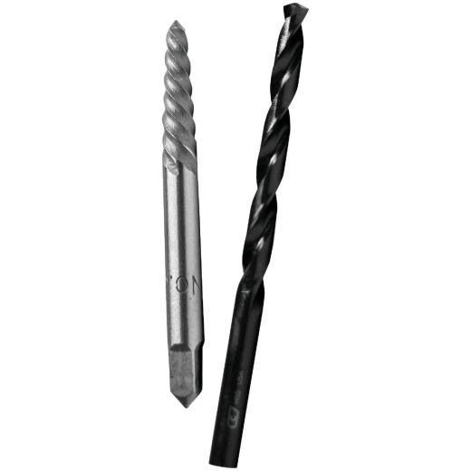 Irwin #3 Spiral Screw Extractor and Drill Bit Combo