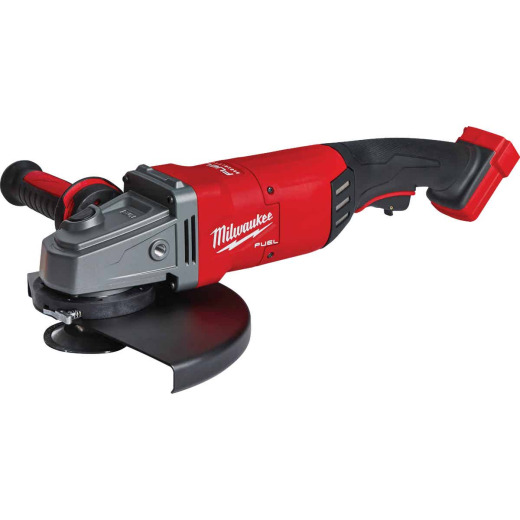 Milwaukee M18 FUEL 18 Volt Lithium-Ion 7 In. - 9 In. Large Brushless Cordless Angle Grinder (Bare Tool)