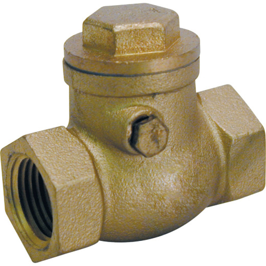 ProLine 1-1/4 In. Brass Swing Check Valve