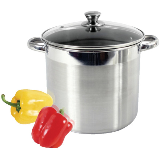 McSunley 8 Qt. Stainless Steel Stockpot