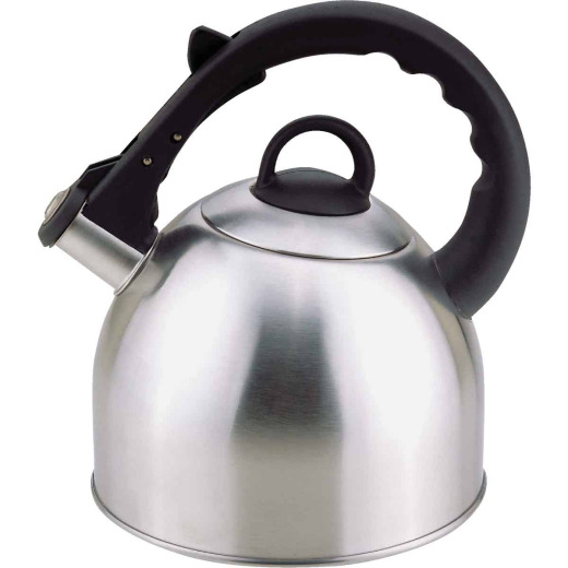 Culinary Edge 2.5 Qt. Stainless Steel Stove Top Tea Kettle