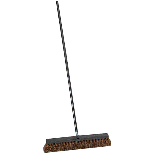 Do it Best 24 In. W. x 60 In. L. Heavy-Duty Palmyra Push Broom