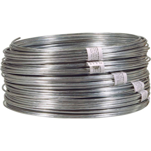HILLMAN ANCHOR WIRE 50 Ft. 9 Ga. Non-Snarling Clothesline