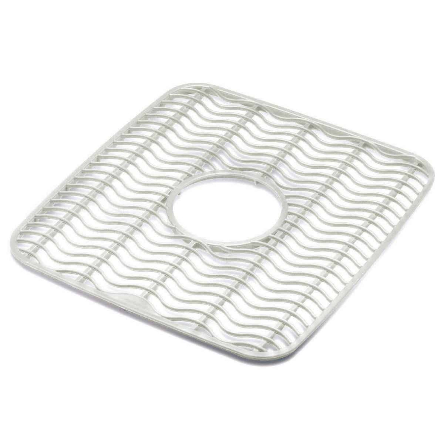 Rubbermaid 11.5 In. x 12.5 In. Clear Sink Mat Protector Image 1