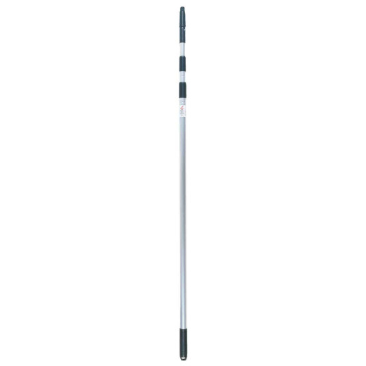 Unger 3-Stage 11 Ft. Silver Aluminum Telescopic Handle