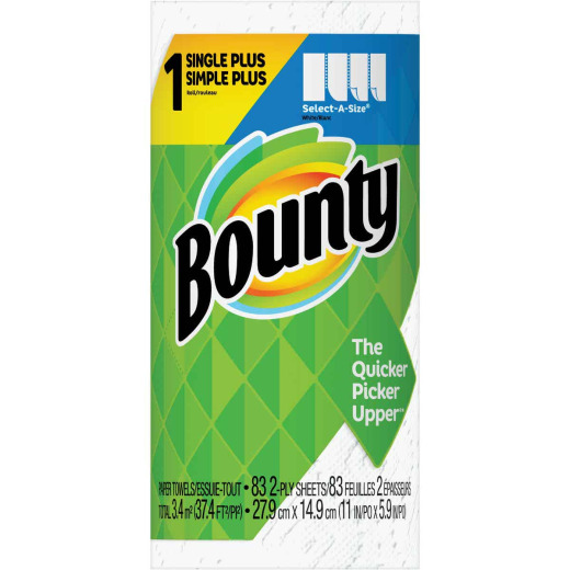 Bounty Single Plus Select-A-Size Paper Towel (1 Roll)