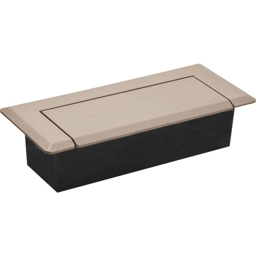 Skampcan 4 In. x 10 In. Brown Floor Register Containment System