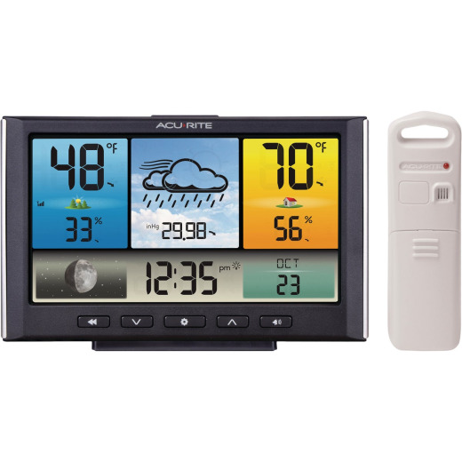Acu-Rite Indoor Outdoor Color Weather Station