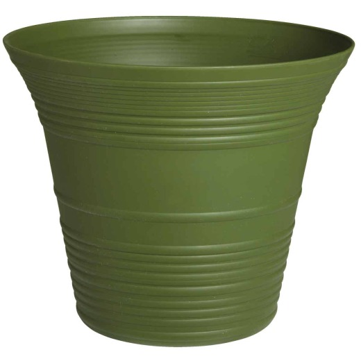 Myers Sedona 12 In. Polypropylene Woodland Green Planter