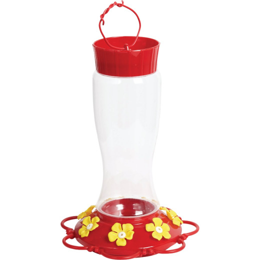 Best Garden 30 Oz. Plastic Hummingbird Feeder