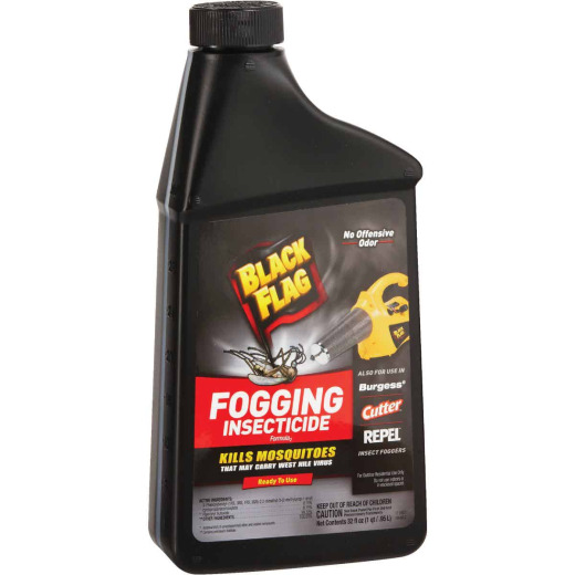 Black Flag 32 Oz. 1/2-Acre Coverage Outdoor Fogger Insecticide