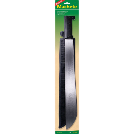 Coleman 18 In. Hardened Steel Blade Machete