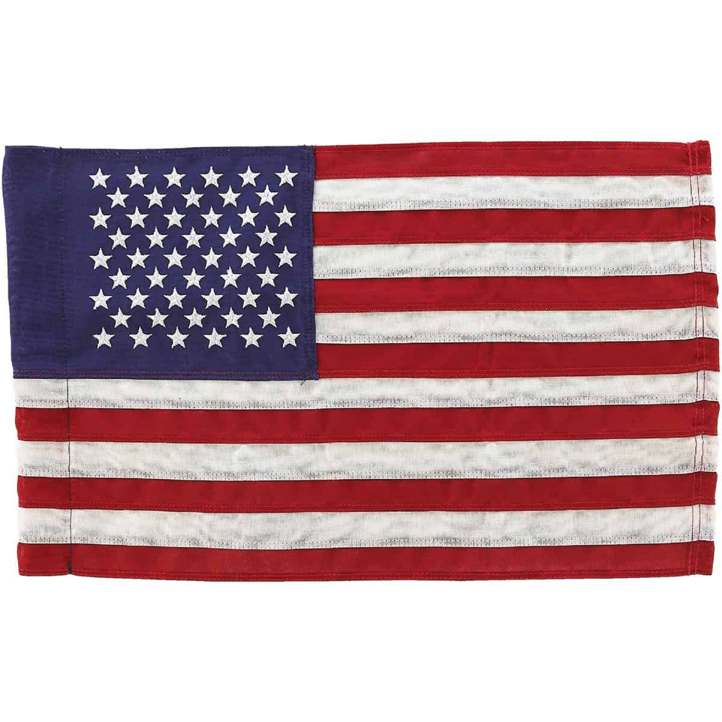 Valley Forge 1 Ft. x 1.5 Ft. Cotton Garden American Flag Image 1