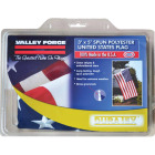 Valley Forge 3 Ft. x 5 Ft. Polyester American Flag Image 2
